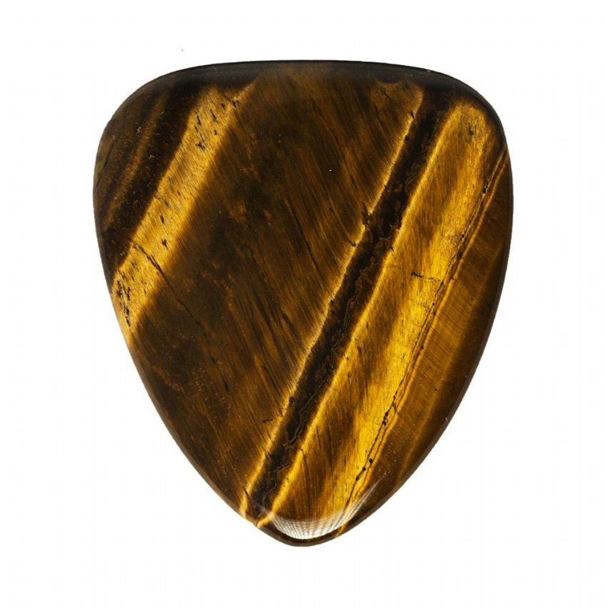 Tiger Tones - Gold Tiger Eye - 1 Pick | Timber Tones